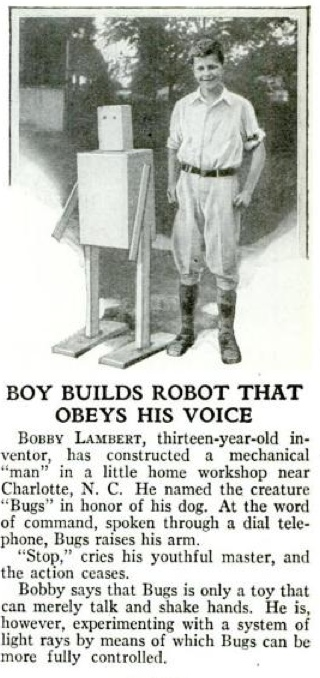 Boy Builds Robot That Obeys His Voice