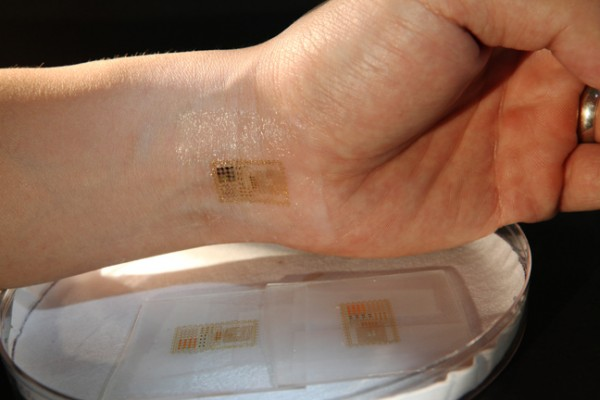Circuits That Stick to the Skin Like Temporary Tattoos