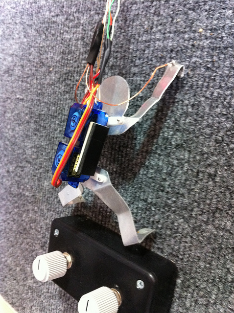 Rock 'em Sock 'em Robot Rock Climbers Game Cabinet