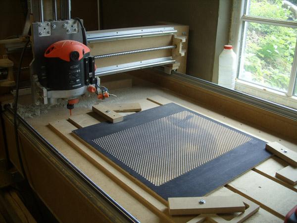 CNCing Halftones