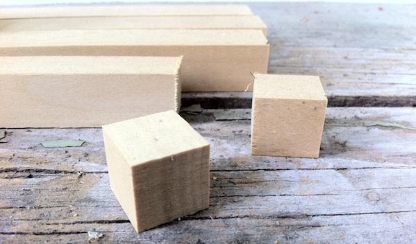 Challenge: How To Make 1-inch Wooden Cubes?