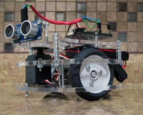 Versatile Lasercut Turtle Robot Platform