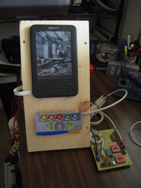 Engineer Mods a Kindle for his Sister