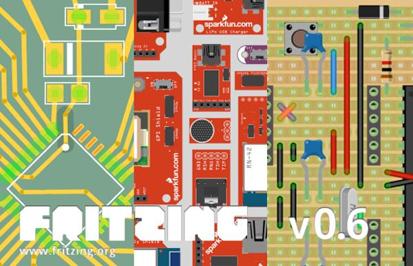 Fritzing 0.6.2 is out with SMD support and more parts