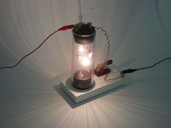 In the Maker Shed: Reinventing Edison – Build Your Own Light Bulb Kit