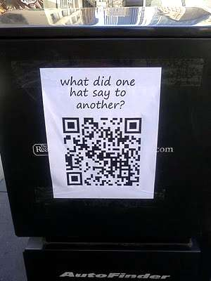 Punchlines by QR Code