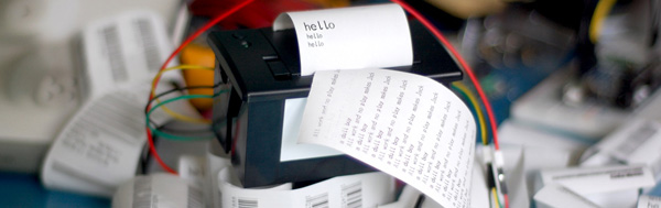 Controlling a Thermal Printer with an Arduino