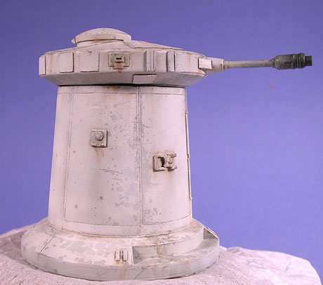 How-To:  Scratchbuilt Hoth Laser Turret