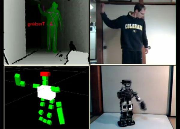 Veltrobot Kinect Teleoperation