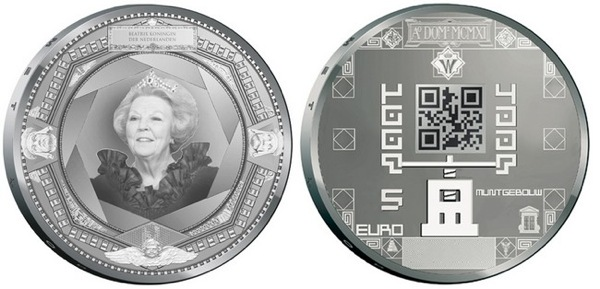 News From The Future: QR Code Coins