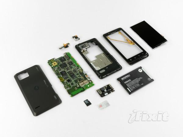 Motorola Droid Bionic Teardown