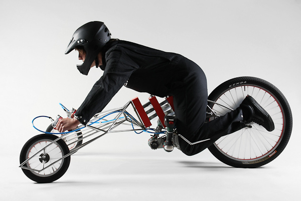 Drill-Powered Tricycle