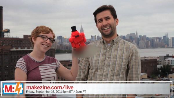 Make: Live Episode 16: Makeys & World Maker Faire NY (preview video)