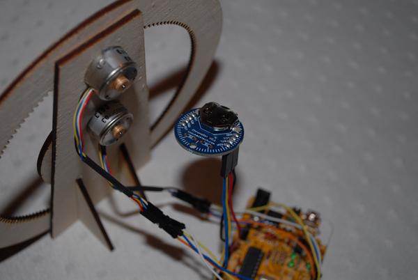 Laser-Cut Gear Clock