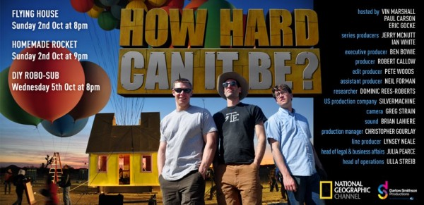 How Hard Can It Be? A New Maker Show