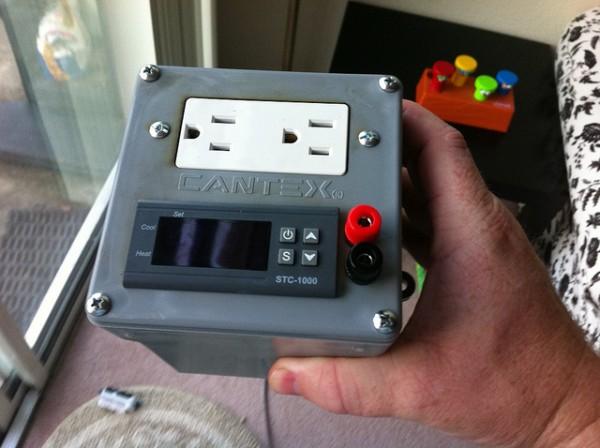 Jake's Laser-Cut Sous-Vide Controller