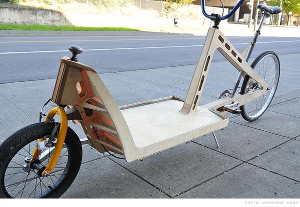 Plywood Cargo Bike