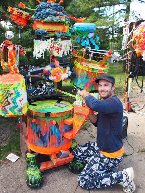 MIDI Controlled Musical Art Robots
