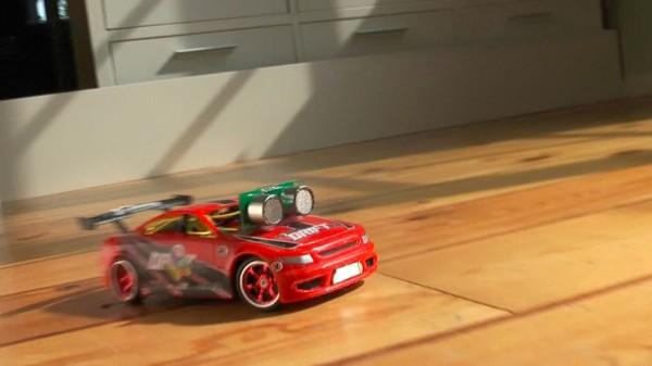 How-To: Drifting Robot Car (video)