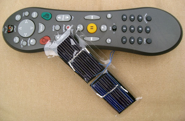 Science for Sun Worshippers: Solar TV Remote