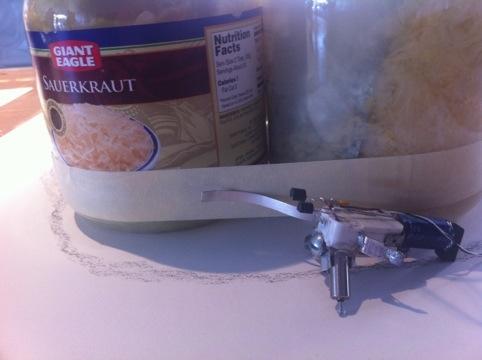 Sauerkraut Powered Robot