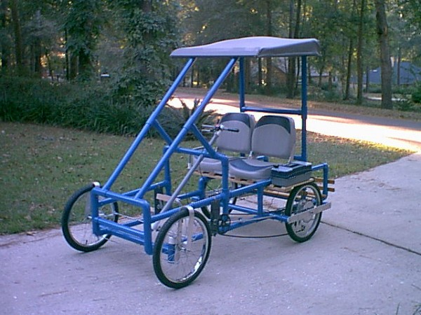 American Speedster PVC Pedal Car