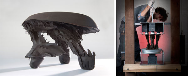 Making Furniture with Magnetism and Gravity