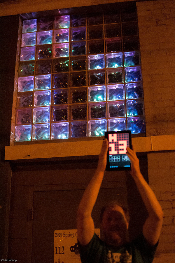 There's an App for Hive13's LED Matrix