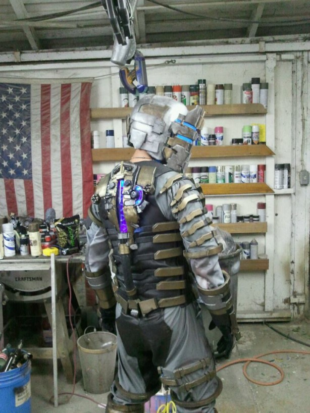 """Shawn Thorsson's """"Dead Space 2"""" Getup"""