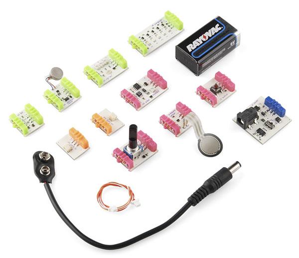 New in the Maker Shed: littleBits Starter Kit