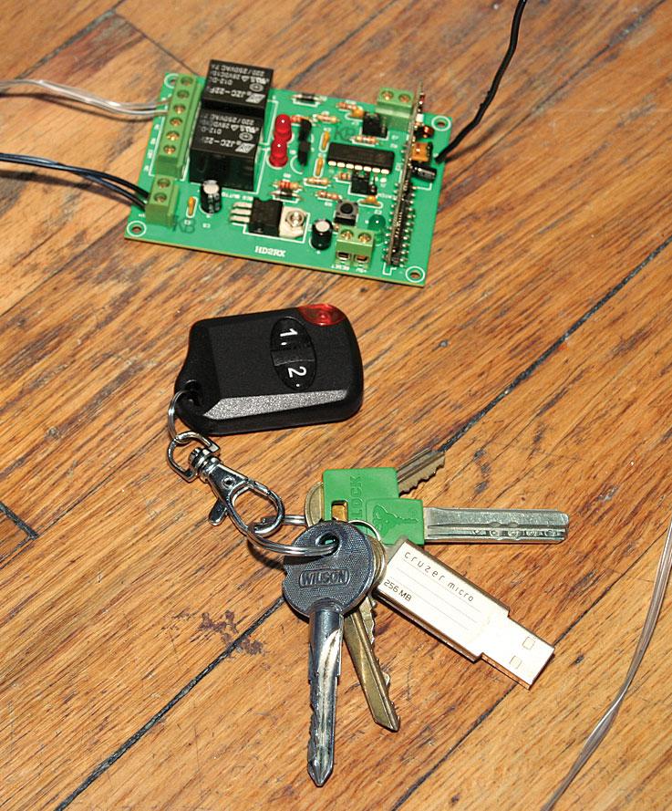 HD2Combo Remote Control Relay