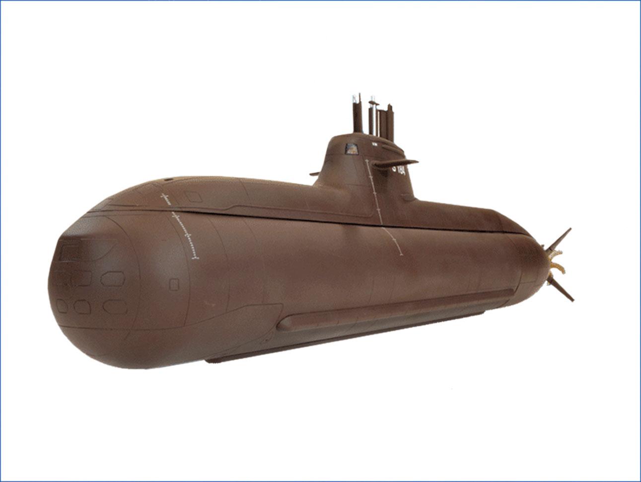 Engel Submarine Type 212A