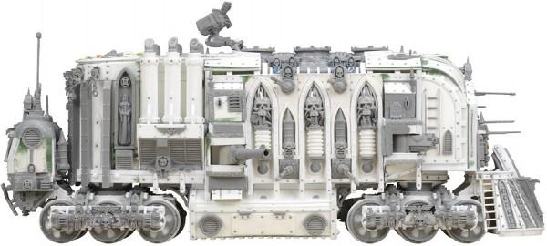 Scratchbuilt: WH40K Armored Train