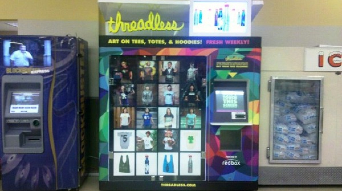 News From The Future - Crowd Sourced T-Shirt Vending Machines | Make: