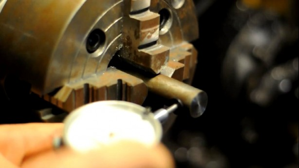 How-To: Center Stock in a 4-Jaw Lathe Chuck
