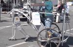 Anatomical Bipedal Robot: Solar Electric Robot Chariot