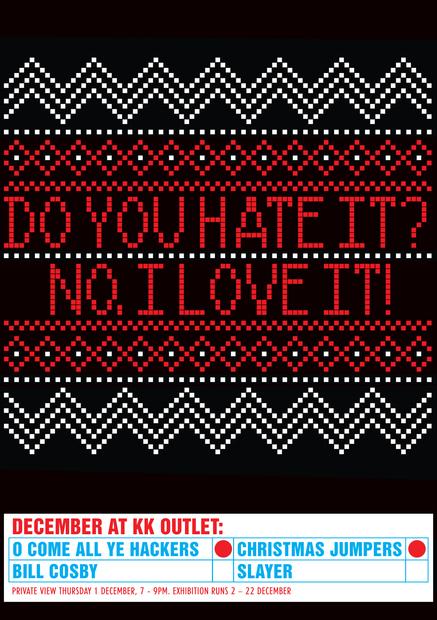 Andrew Salomone's Bad Christmas Sweater Exhibit in London