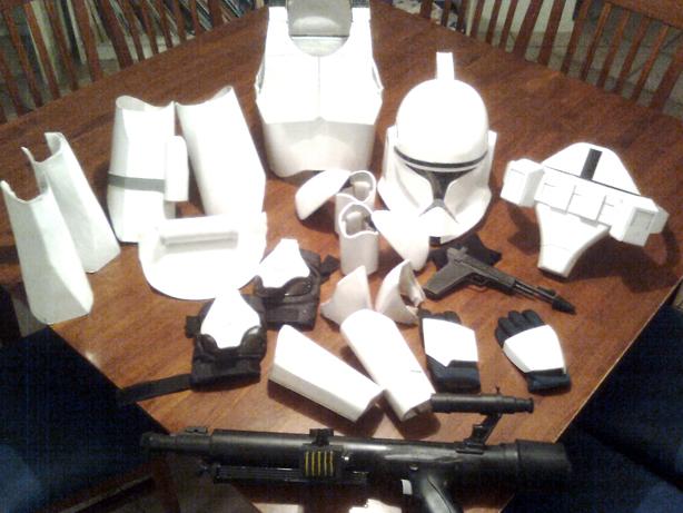 Cardboard Clone Trooper