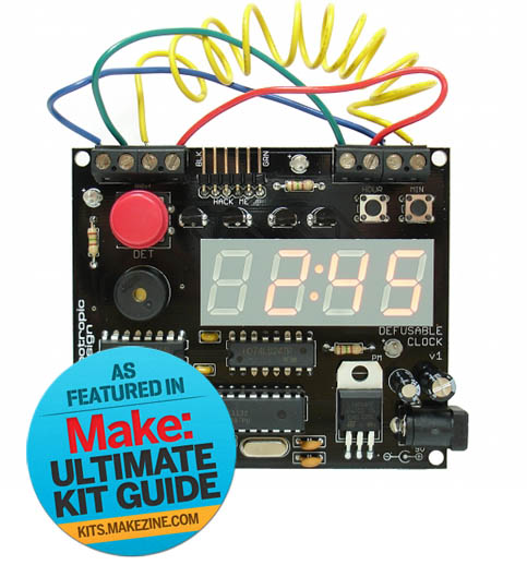 Kit-A-Day Giveaway: Defusable Alarm Clock Kit