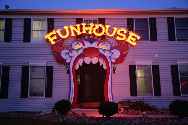 Creepy Homemade Funhouse is Creepy (and Epic)!