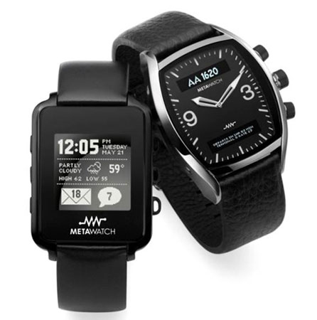 Tool Review: MetaWatch Android-Compatible Wristwatch