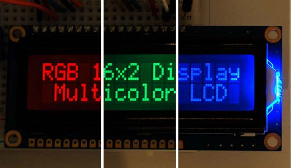 New in the Maker Shed: RGB Backlight LCD Displays