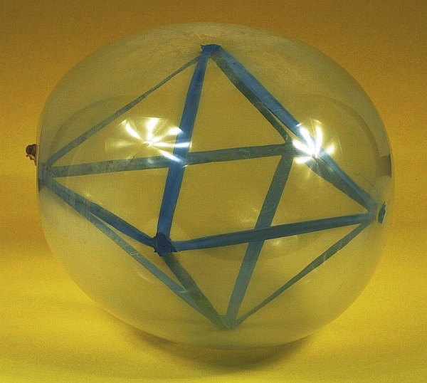 Math Monday: An Octahedron in a Balloon