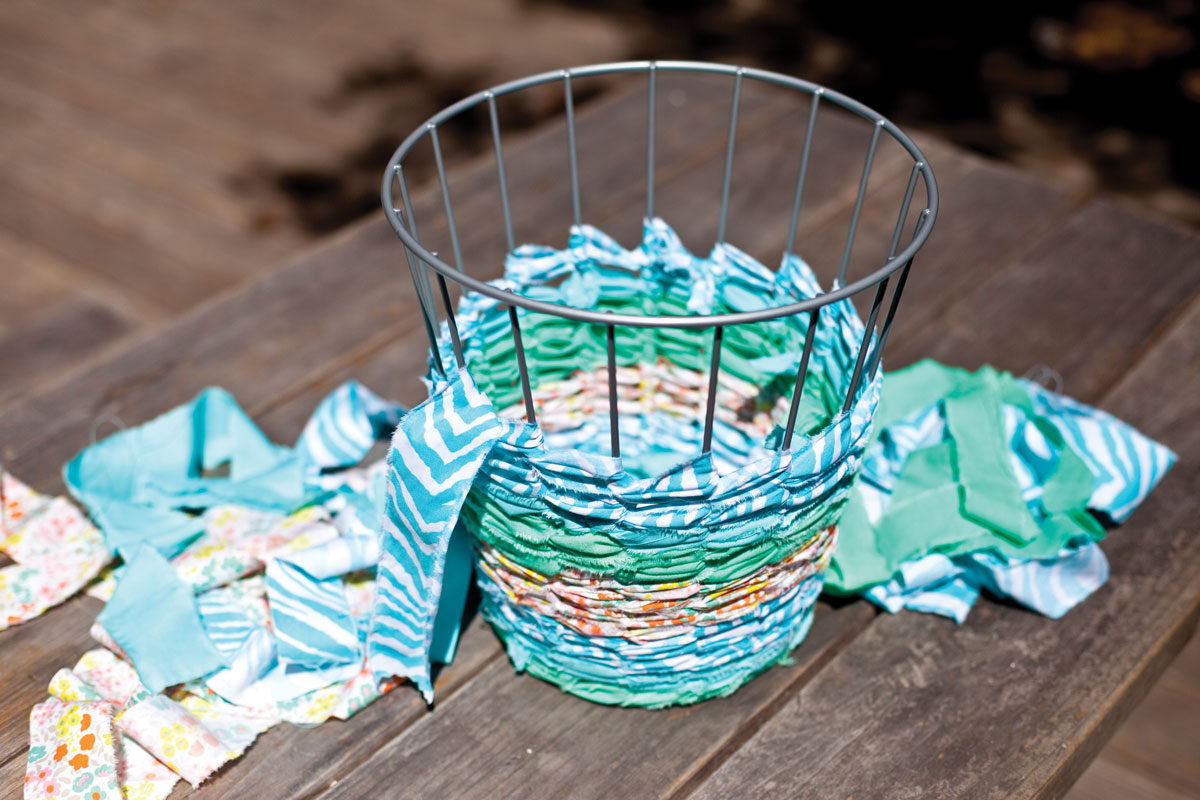 ReMake It Plastic Bag Trash Can