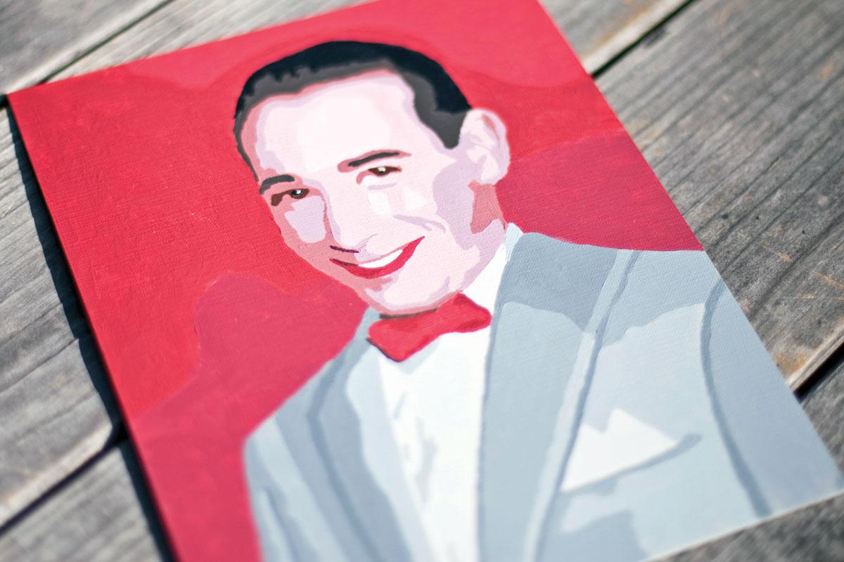 Pee-Wee Herman Paint By Number