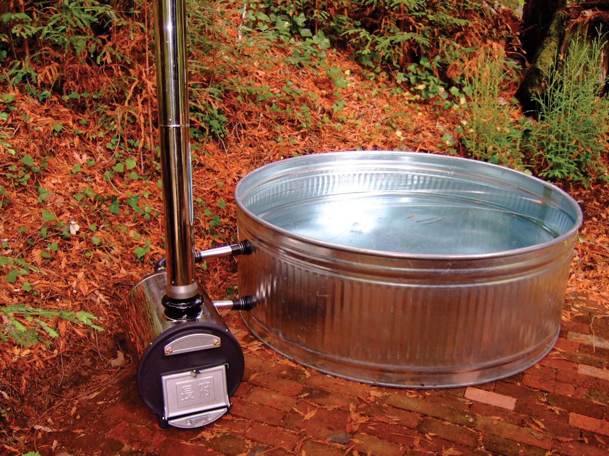 Chofu Wood-Fired Hot Tub