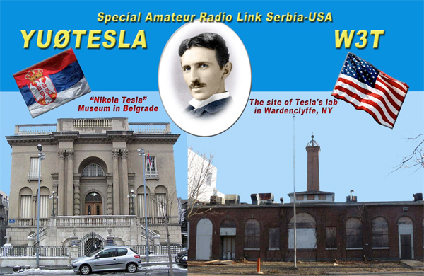 Tesla Special Event Ham Radio Stations, November 5th