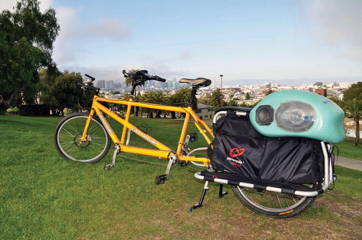 FreeRadical Cargo Bike Conversion