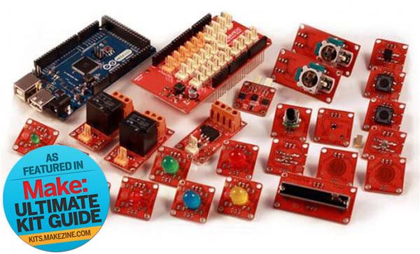 Kit-A-Day Giveaway: Arduino ADK TinkerKit