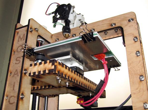 Building the MakerGear Mosaic 3D Printer – Part VI: The Heated Build Platform